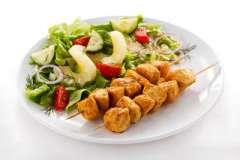 Вкусные рецепты: Пирожки с брынзой, Рыба под сливочно-яичным соусом, суп с рисом и чечевицей